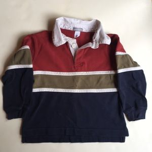 Carters boys polo rugby shirt size 4T